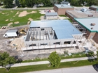NivElemSchoolAddition - In Progress - Our Projects - Von Ast Construction (2014) Inc. - General Contractor - Design Build